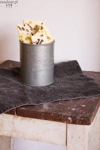 Domowa biała czekolada