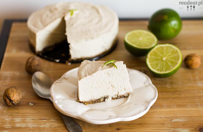 lime cashew cheesecake