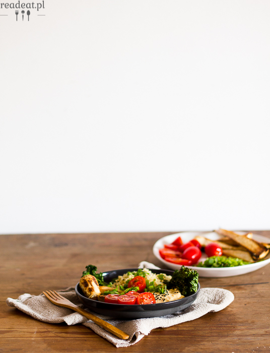 quinoa with chickpeas