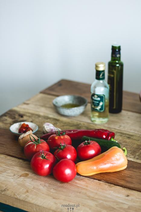 gazpacho składniki