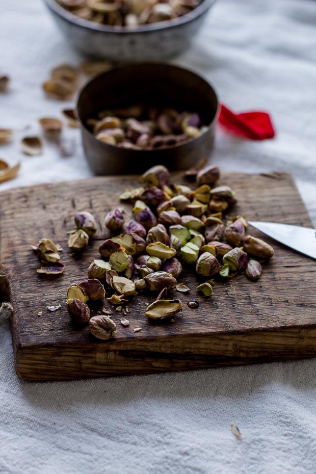bezglutenowa granola z pistacjami