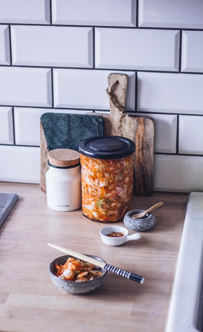 szybkie kimchi