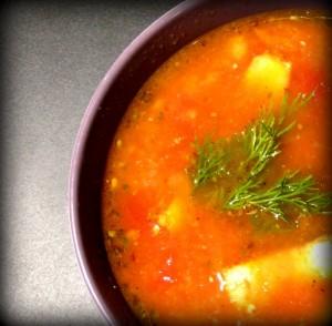 Włoska zupa z ciecierzycy