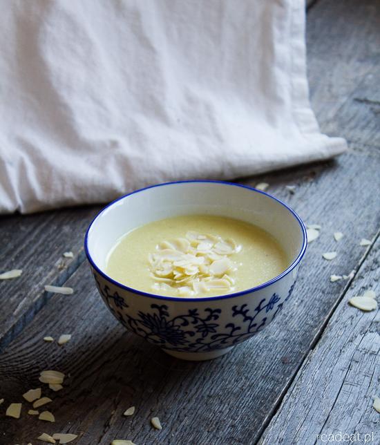 almond and potato soup