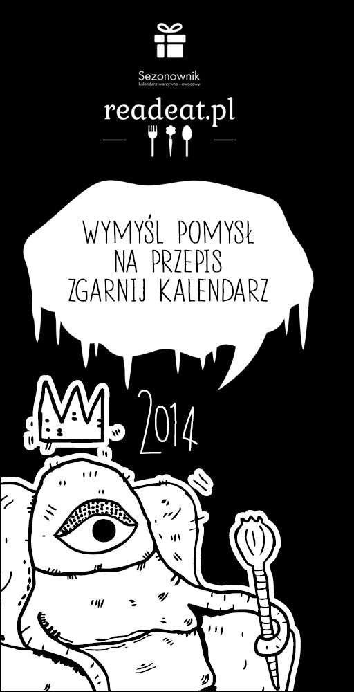 Konkurs: wygraj Sezonownik- warzywny kalendarz na rok 2014