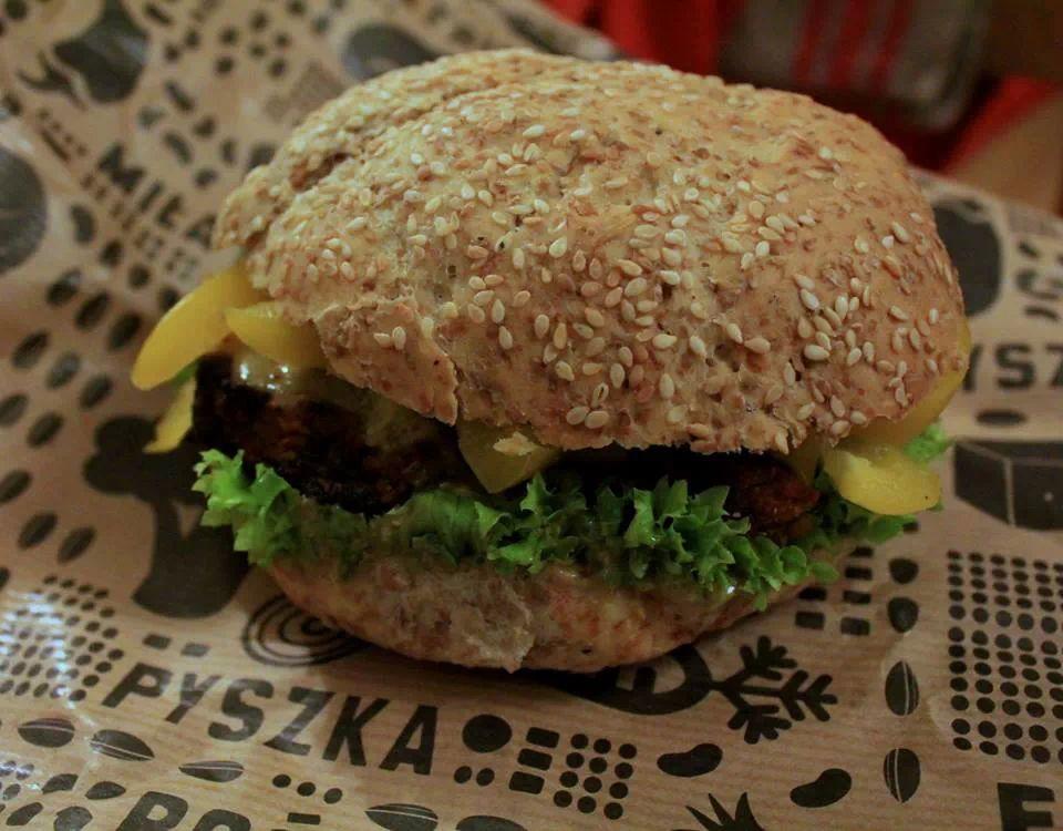 NOVA KROVA - burger Dyniowy