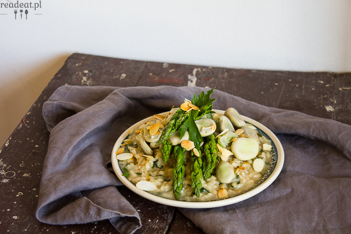 vegan risotto step by step
