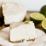 Lime cashew cheesecake without sugar