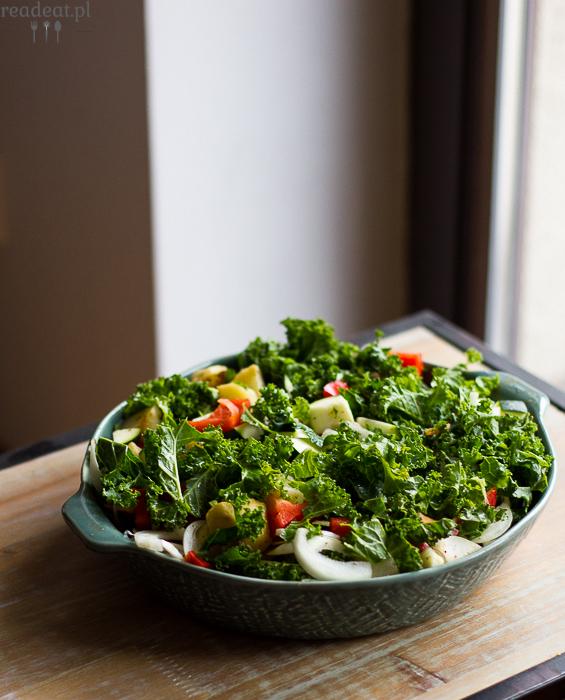 vegan kale casserole