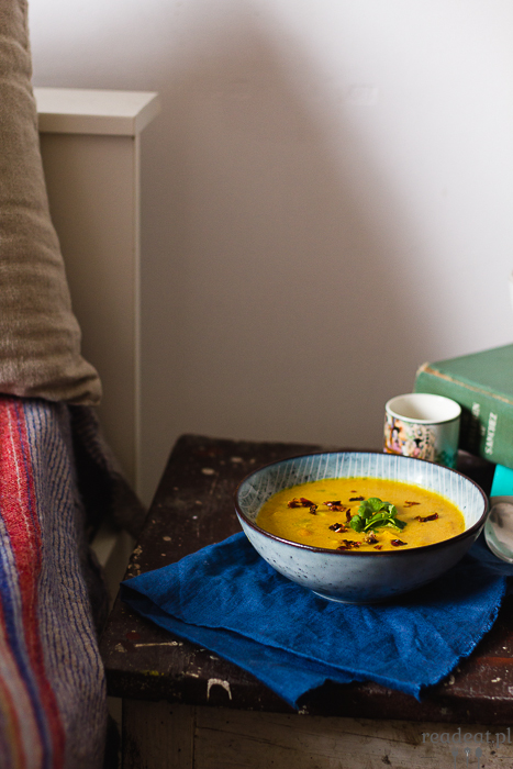 buttnernut squash soup with miso