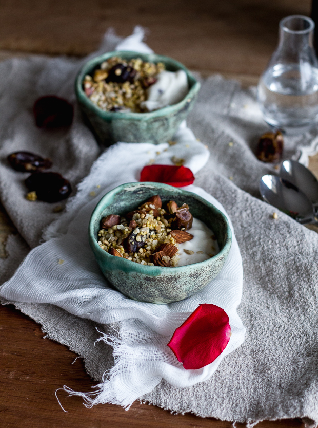 gf granola with dates