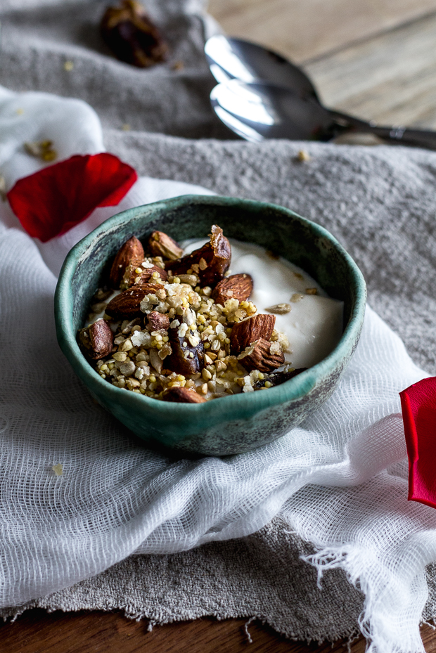 rose water granola