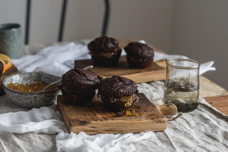 wegańskie muffiny