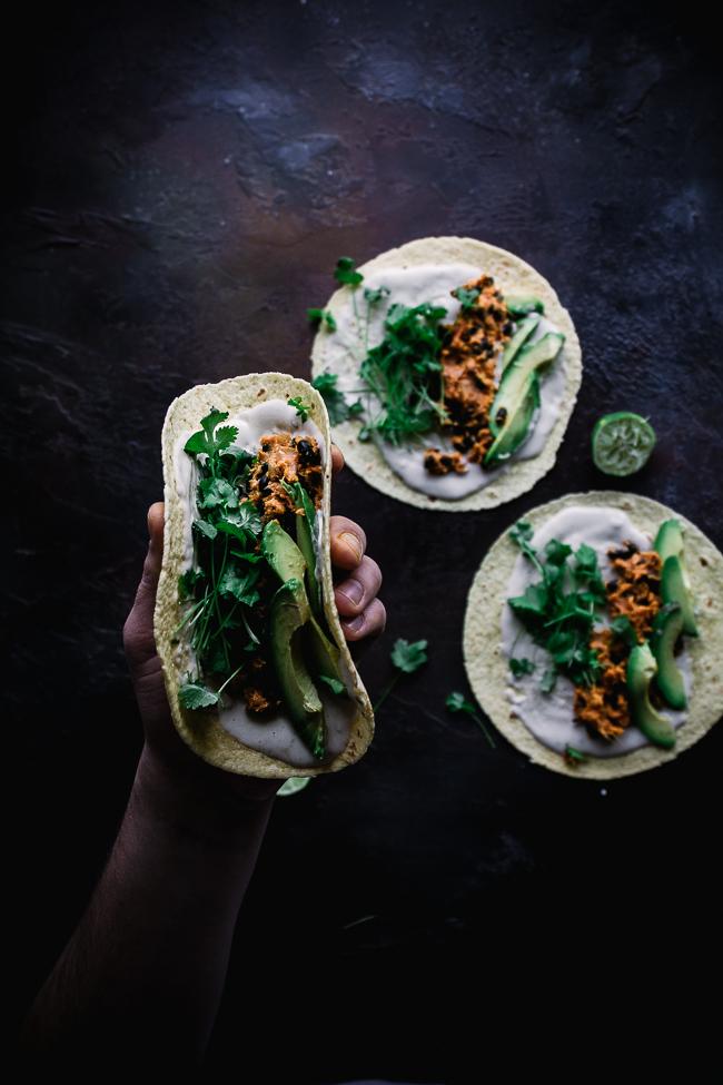 Tacos z batatem